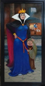 ed steffek painting of snow white and the queen