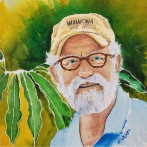 Jack Hickson watercolor artist head shot